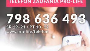 Powstały Telefon Zaufania Pro-life i Fundusz Ochrony Macierzyństwa