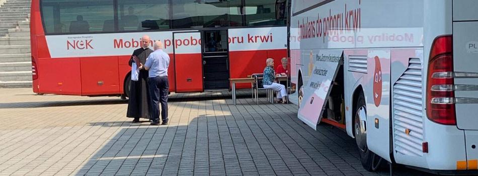 Pielgrzymka Krwiodawców i dawców szpiku do Łagiewnik