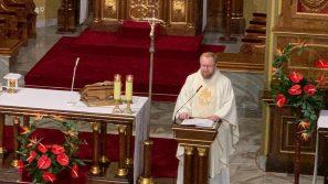 Modlitwa za maturzystów w Łagiewnikach