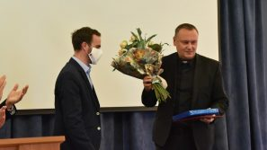 Podziękowania dla Księdza Rektora prof. Wojciecha Zyzaka za 6-letnią kadencję