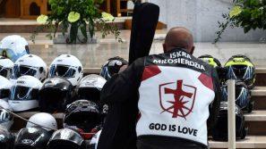 Szczęść Boże na motorze
