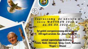 Lot tysięcy gołębi na cześć Jana Pawła II