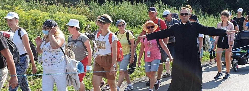 40. Piesza Pielgrzymka Krakowska – podsumowanie drugiego dnia
