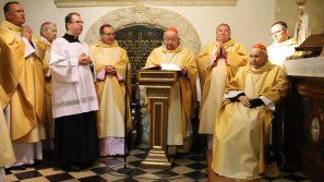 Bp Damian Muskus: kard. Marian Jaworski do końca żył sprawami Kościoła