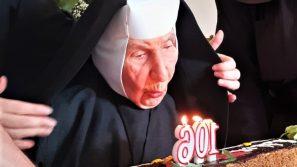 106 lat życia i 80 lat profesji zakonnej s. Adaminy