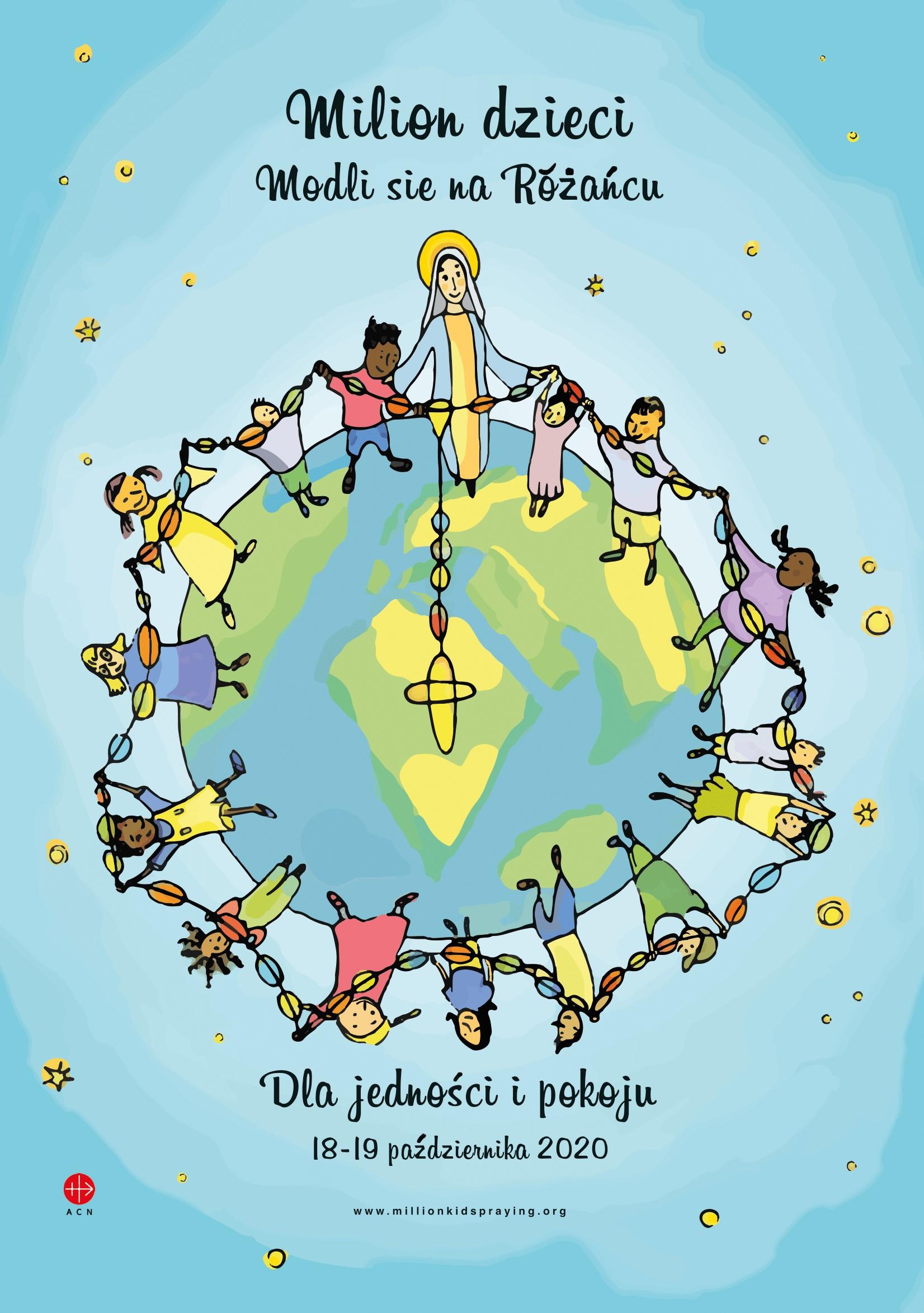 """Akcja """"Milion dzieci modli się na różańcu"""""""