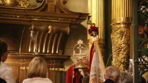 Abp Marek Jędraszewski podczas odpustu w sanktuarium Krzyża Świętego w Mogile: Miarą godności człowieka jest miłość Boga, w którą wierzymy