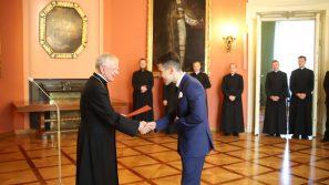 15 nowych kleryków Archidiecezji Krakowskiej