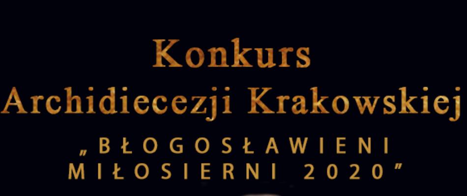 """Rozstrzygnięcie konkursu """"Błogosławieni Miłosierni 2020"""""""