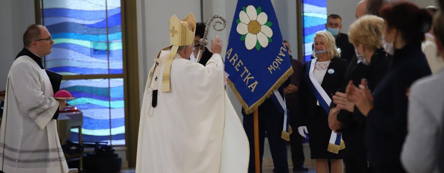 Abp Marek Jędraszewski w czasie V Pielgrzymki Apostolatu Margaretka: dziękuję za waszą miłość do kapłanów