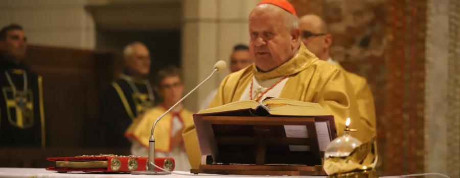 Kard. Stanisław Dziwisz: program dorastania do świętości zawarty jest w Ośmiu Błogosławieństwach