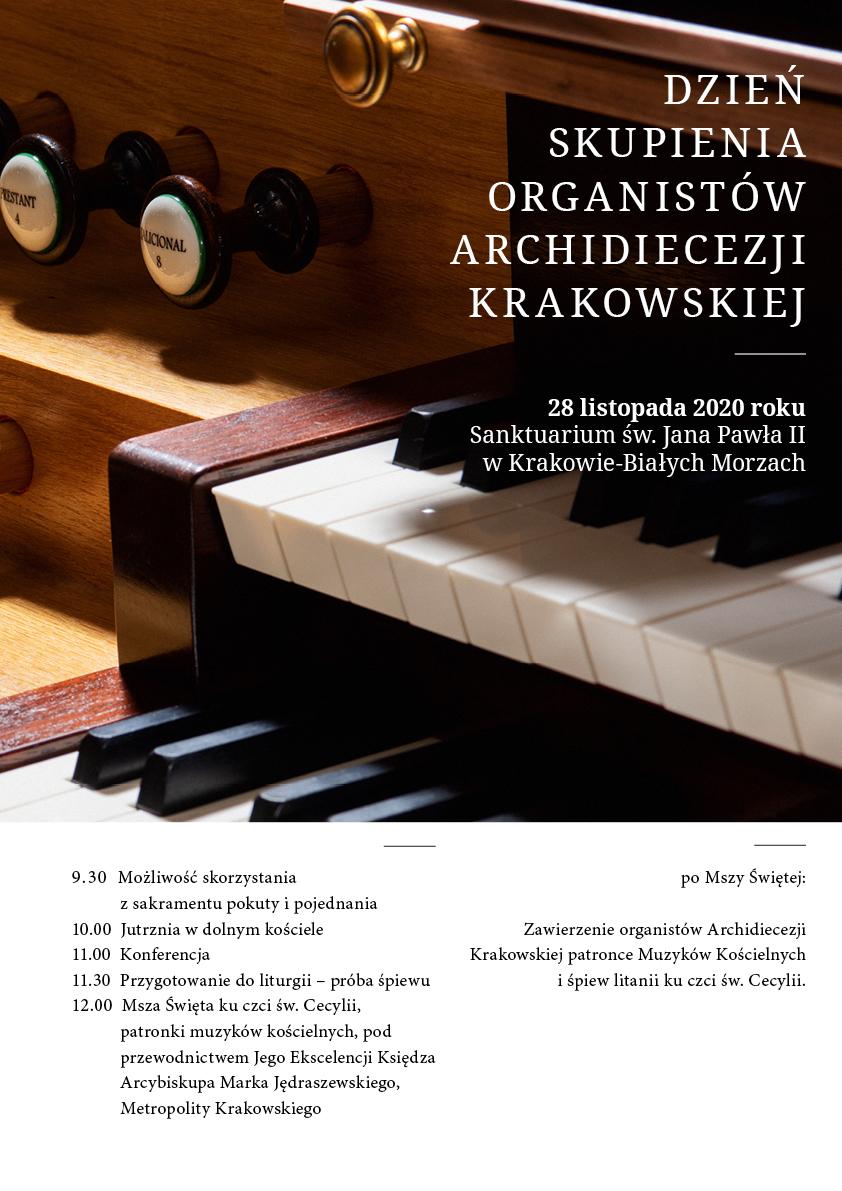 Dzień Skupienia Organistów Archidiecezji Krakowskiej