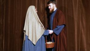 Misterium Bożonarodzeniowe w wykonaniu alumnów Wyższego Seminarium Duchownego w Kalwarii Zebrzydowskiej