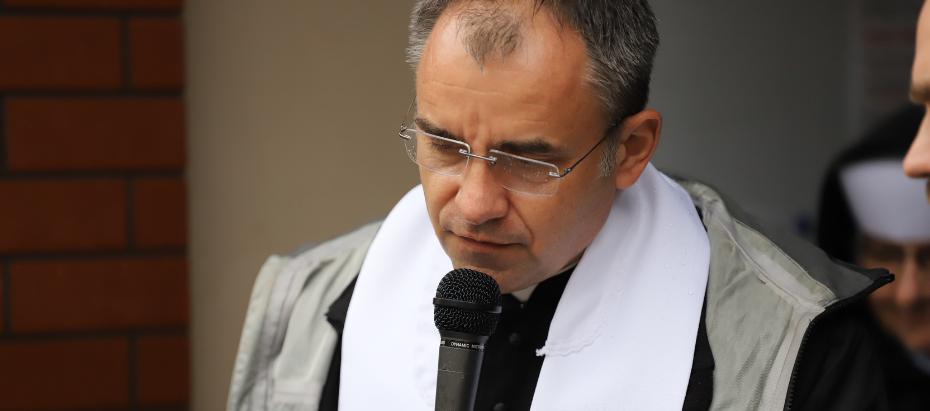 Sakra ks. Roberta Chrząszcza w Sanktuarium św. Jana Pawła II
