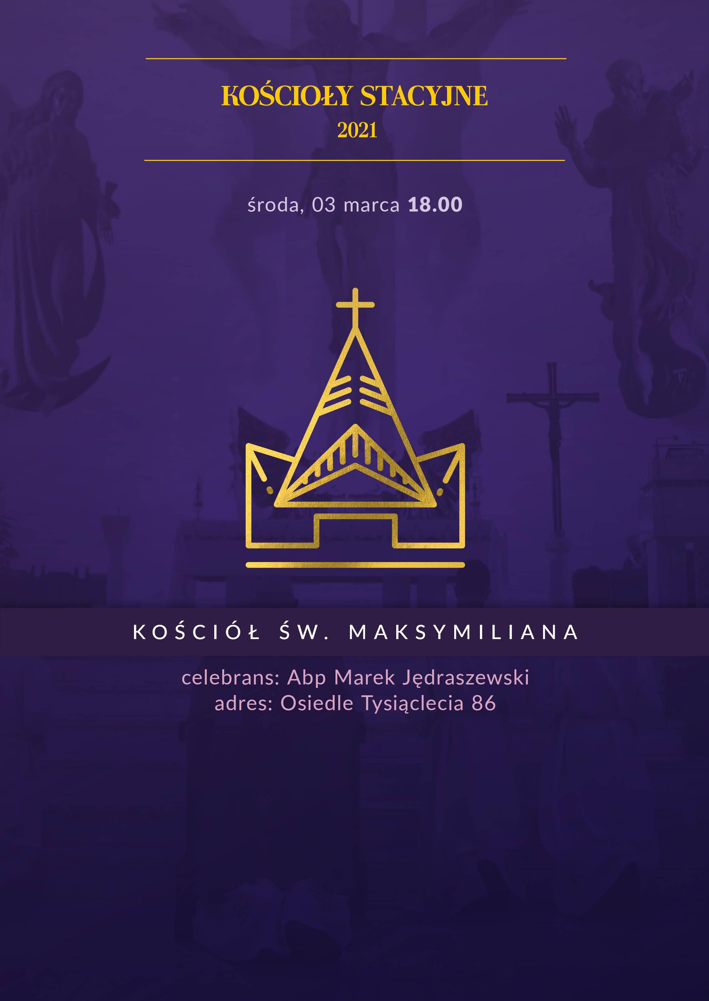Liturgia stacyjna w kościele św. Maksymiliana Marii Kolbego