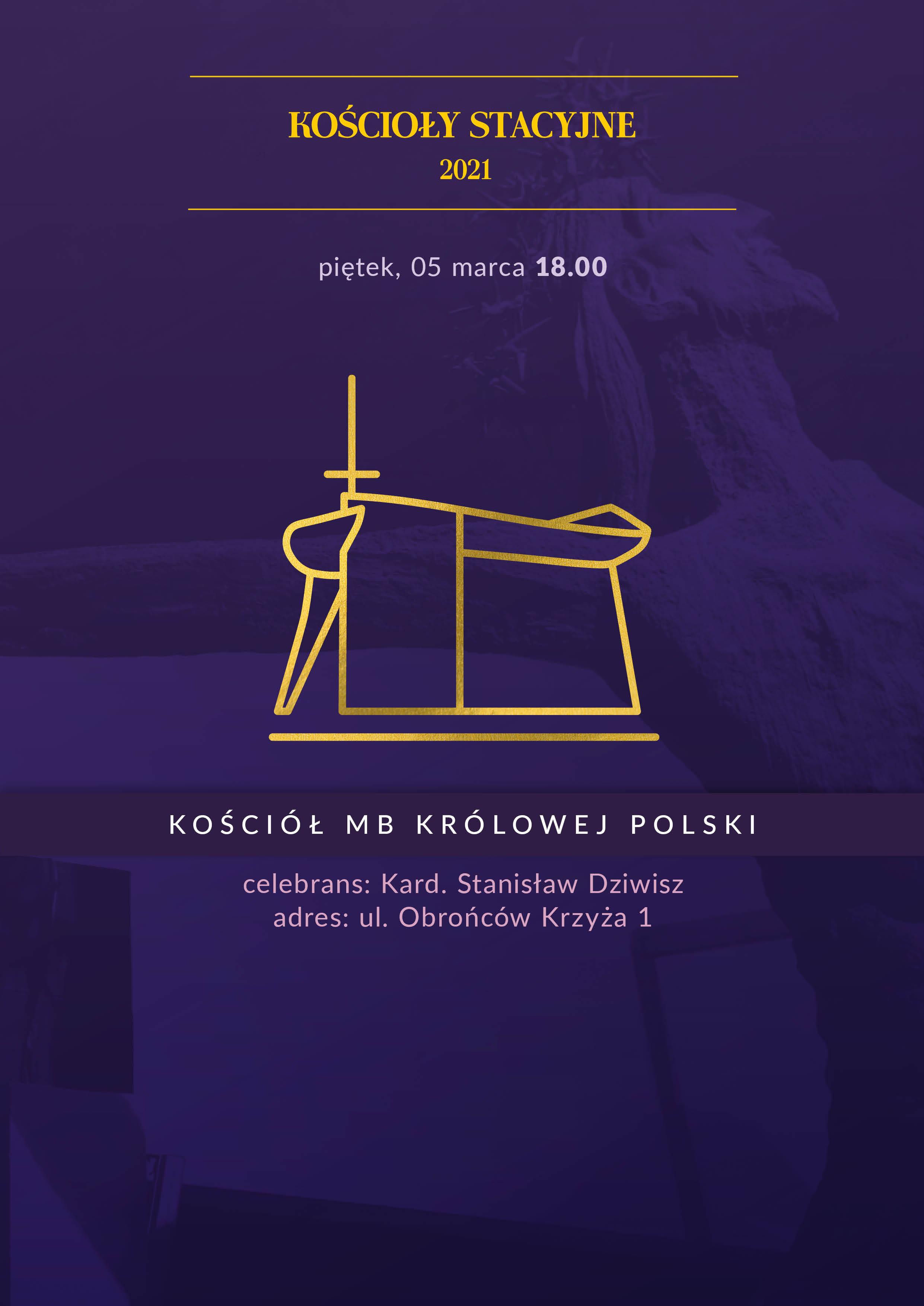 Liturgia stacyjna w kościele Matki Bożej Królowej Polski
