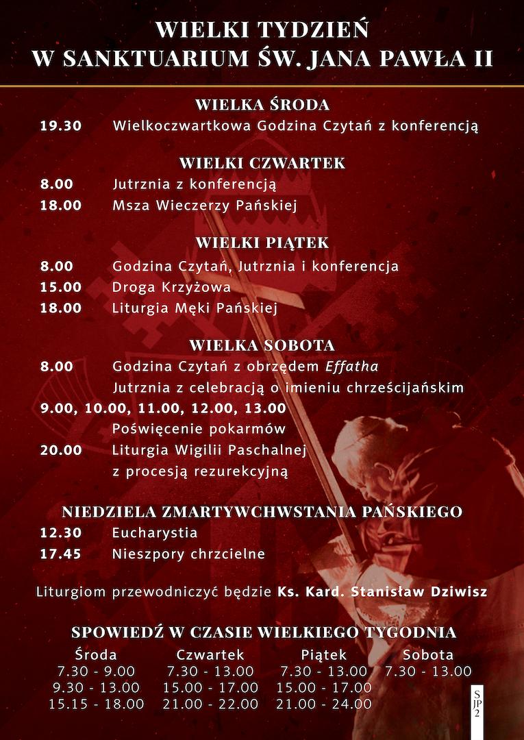Wielkanoc w Sanktuarium św. Jana Pawła II
