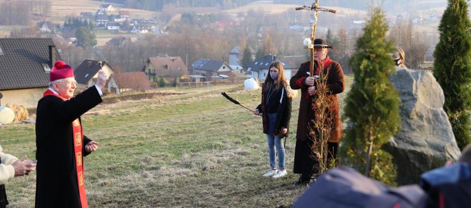 Poświęcenie Drogi Krzyżowej w Spytkowicach