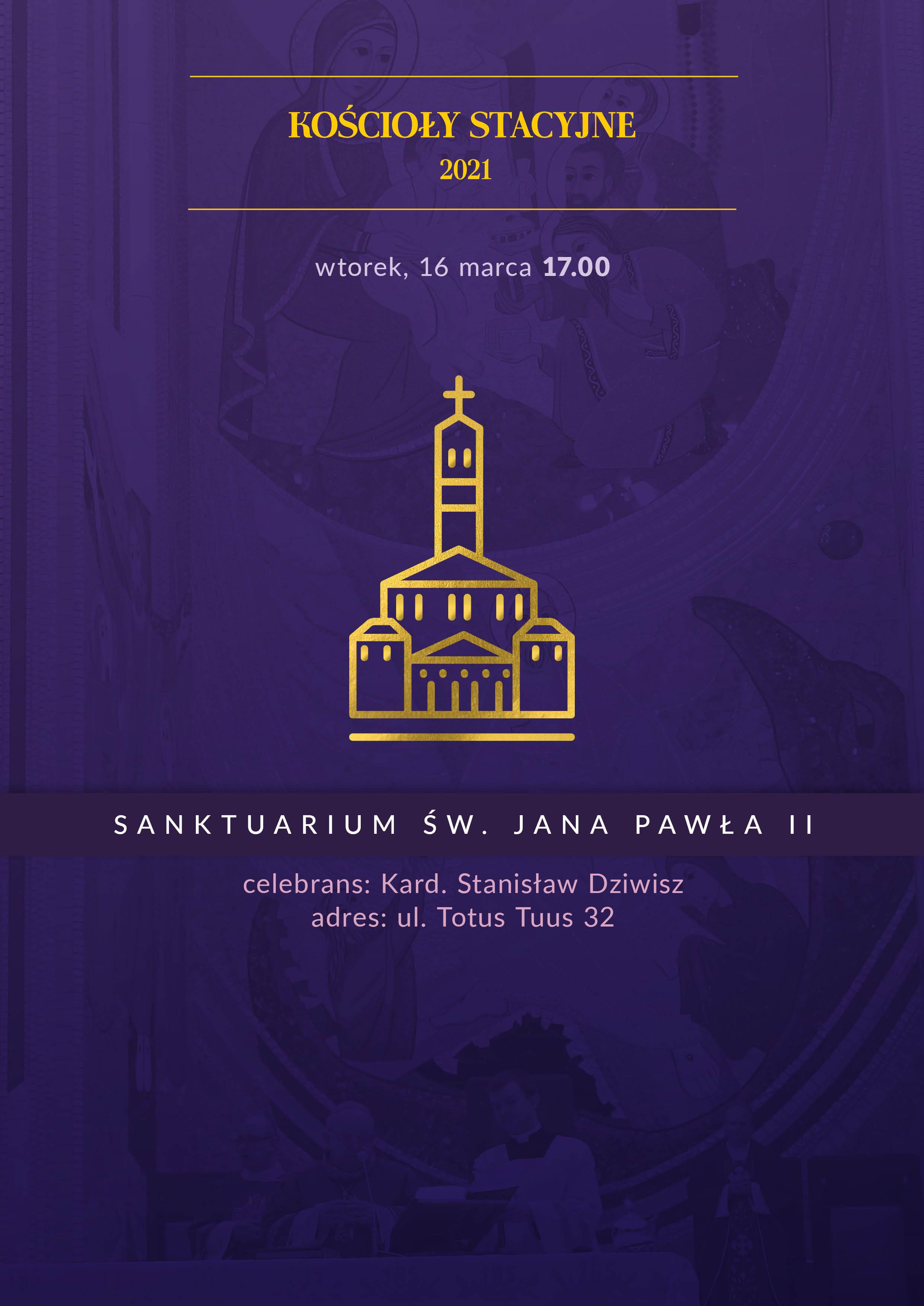 Liturgia Stacyjna w Sanktuarium św. Jana Pawła II