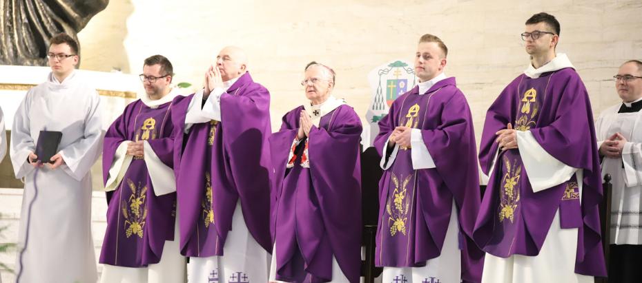 Abp Marek Jędraszewski o podążaniu do Jerozolimy razem z Chrystusem