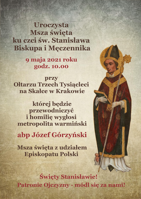 Msza św. ku czci św. Stanisława na Skałce