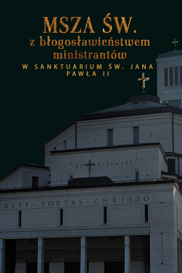 Msza św. z pobłogosławieniem ministrantów