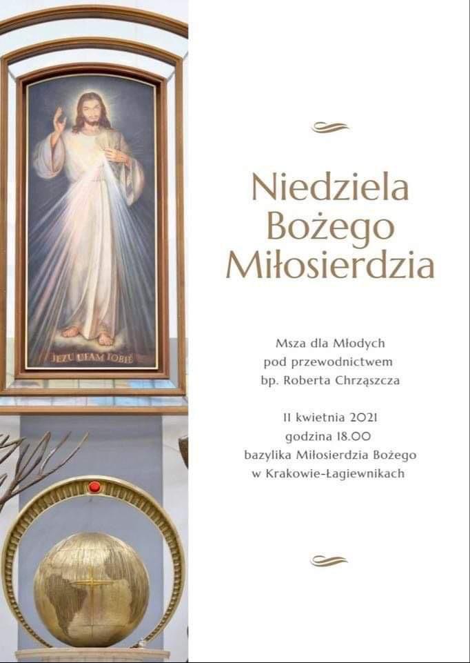 Msza dla Młodych w Niedzielę Bożego Miłosierdzia