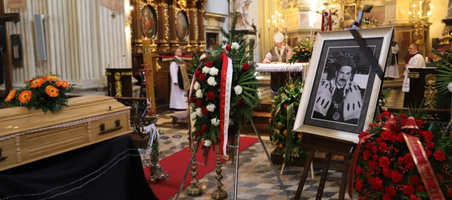 Uroczystości pogrzebowe śp. prof. Mirosława Handke