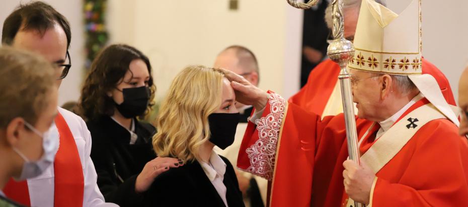 Abp Marek Jędraszewski do młodych: Mężnie wyznawać chrześcijańską wiarę to trwać wiernie przy Chrystusie