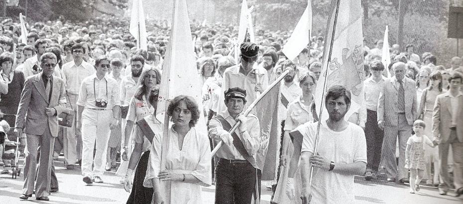 """40 lat temu… – """"BIAŁY MARSZ"""""""