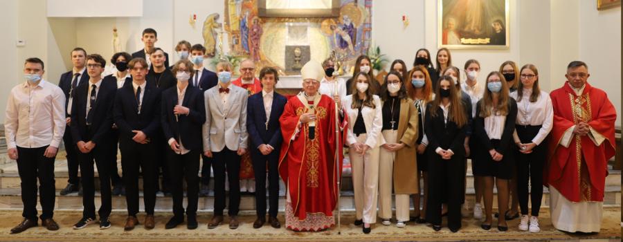 Abp Marek Jędraszewski w Bibicach: Królestwo Boże to królestwo miłości i służenia innym