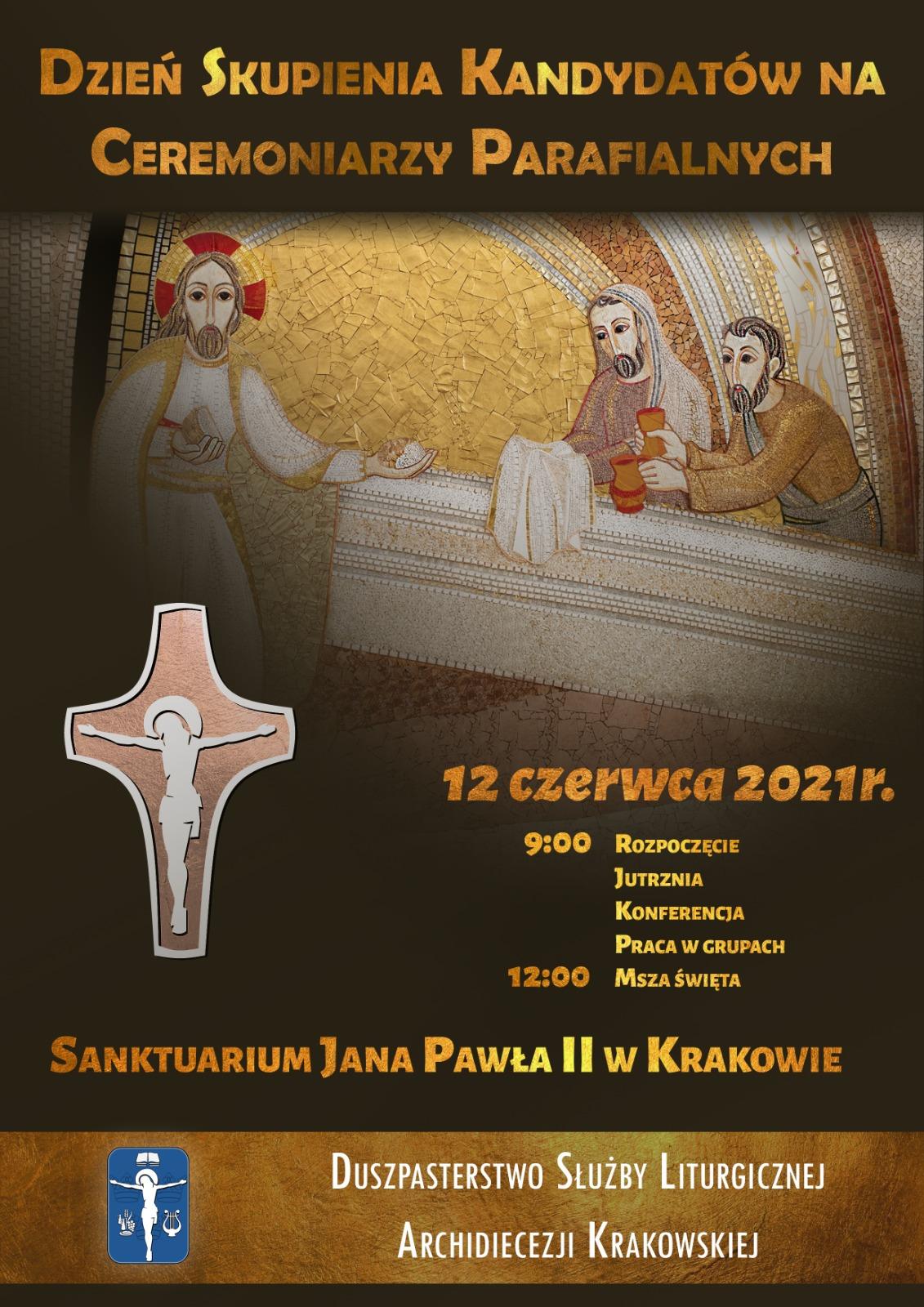 Dzień Skupienia Kandydatów na Ceremoniarzy Parafialnych