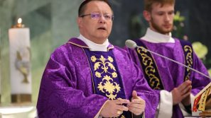 Pogrzeb śp. Marii Ryś, mamy księdza arcybiskupa Grzegorza Rysia, metropolity łódzkiego