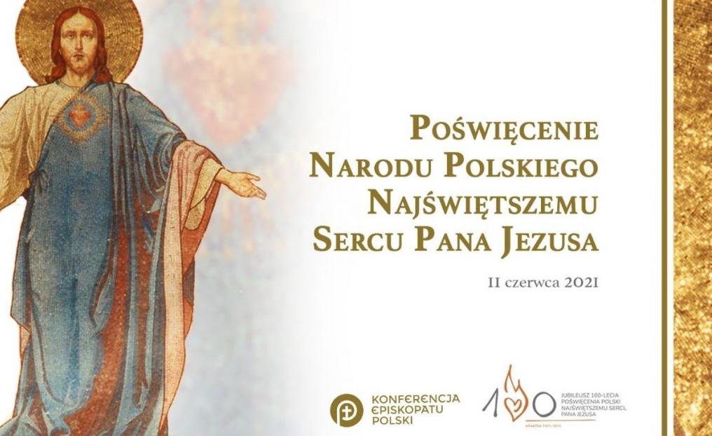 Msza św. z okazji 100-lecia poświęcenia Polski Najświętszemu Sercu Pana Jezusa