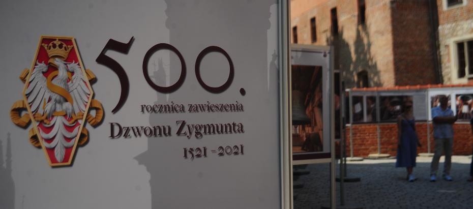 500 lat Dzwonu Zygmunt. Wystawa plenerowa