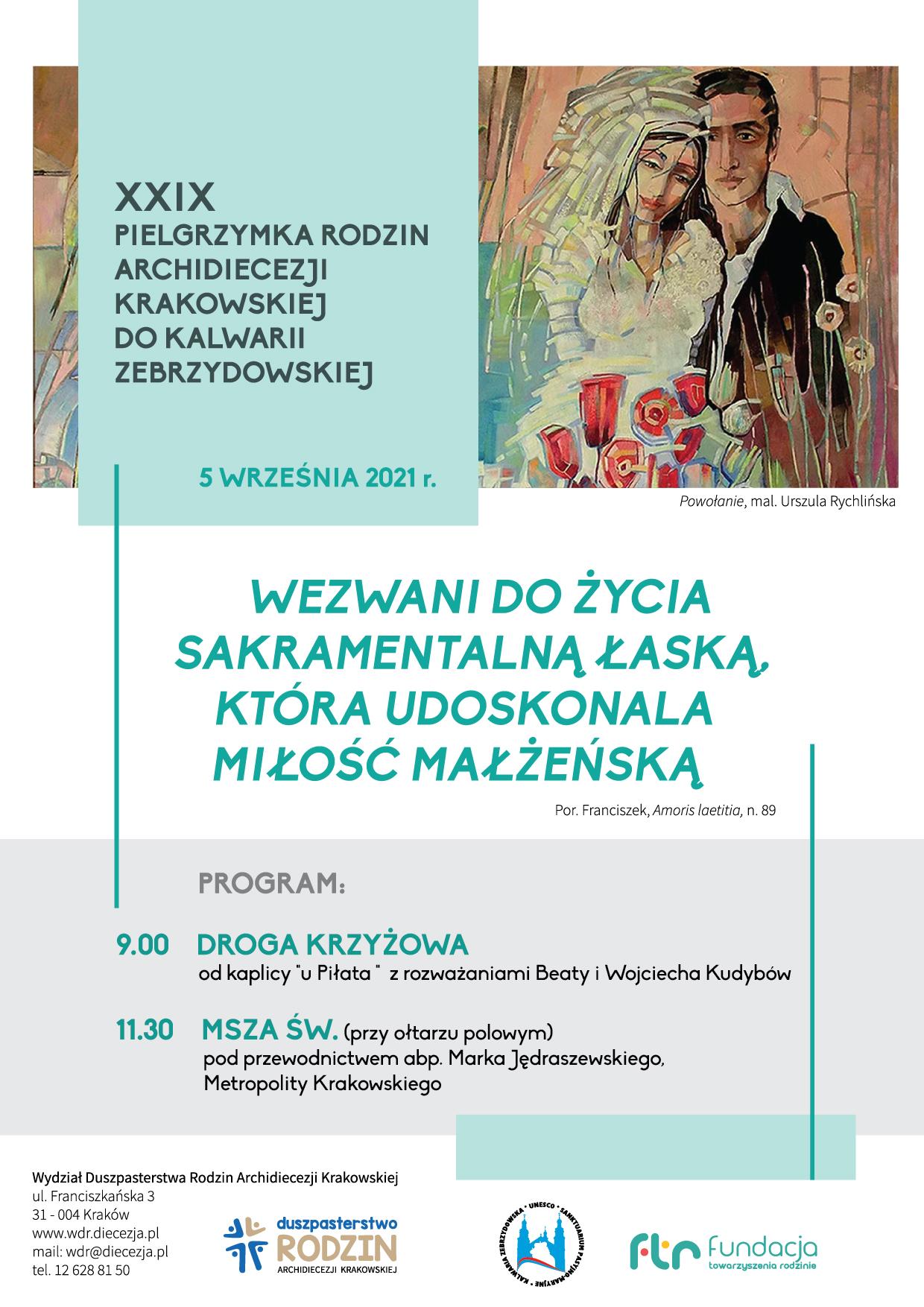 XXIX Pielgrzymka Rodzin Archidiecezji Krakowskiej do Kalwarii Zebrzydowskiej