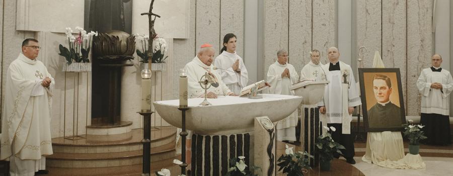 """""""Stać się naczyniami miłosierdzia w naszych czasach""""–pierwsze wspomnienie liturgiczne założyciela Rycerzy Kolumba"""