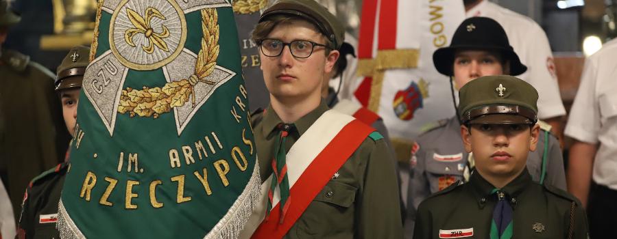 Abp Marek Jędraszewski o gen. Tadeuszu Rozwadowskim: Wzór żołnierza, Polaka, patrioty