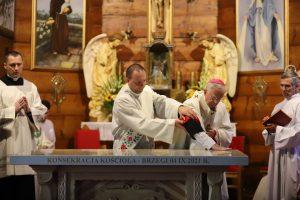 Poświęcenie kościoła św. Antoniego w Brzegach