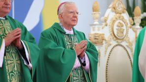 Abp Marek Jędraszewski w czasie Pielgrzymki Ludzi Pracy o miłości człowieka, rodziny, ojczyzny