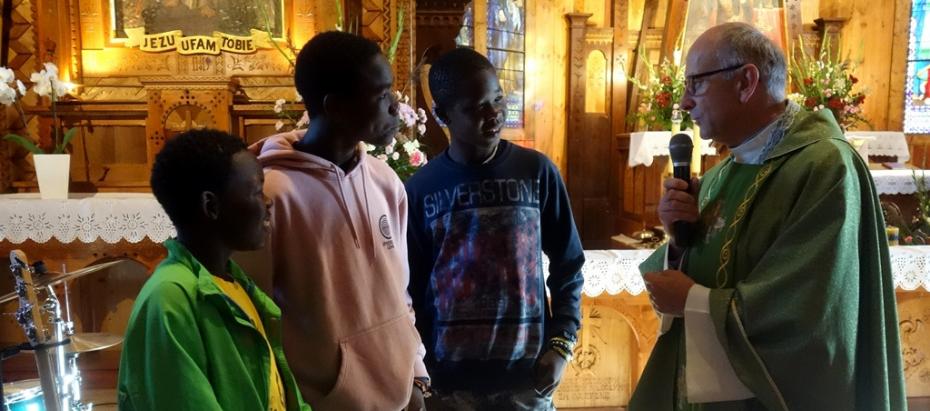 """""""African Music School"""" w Kościelisku"""