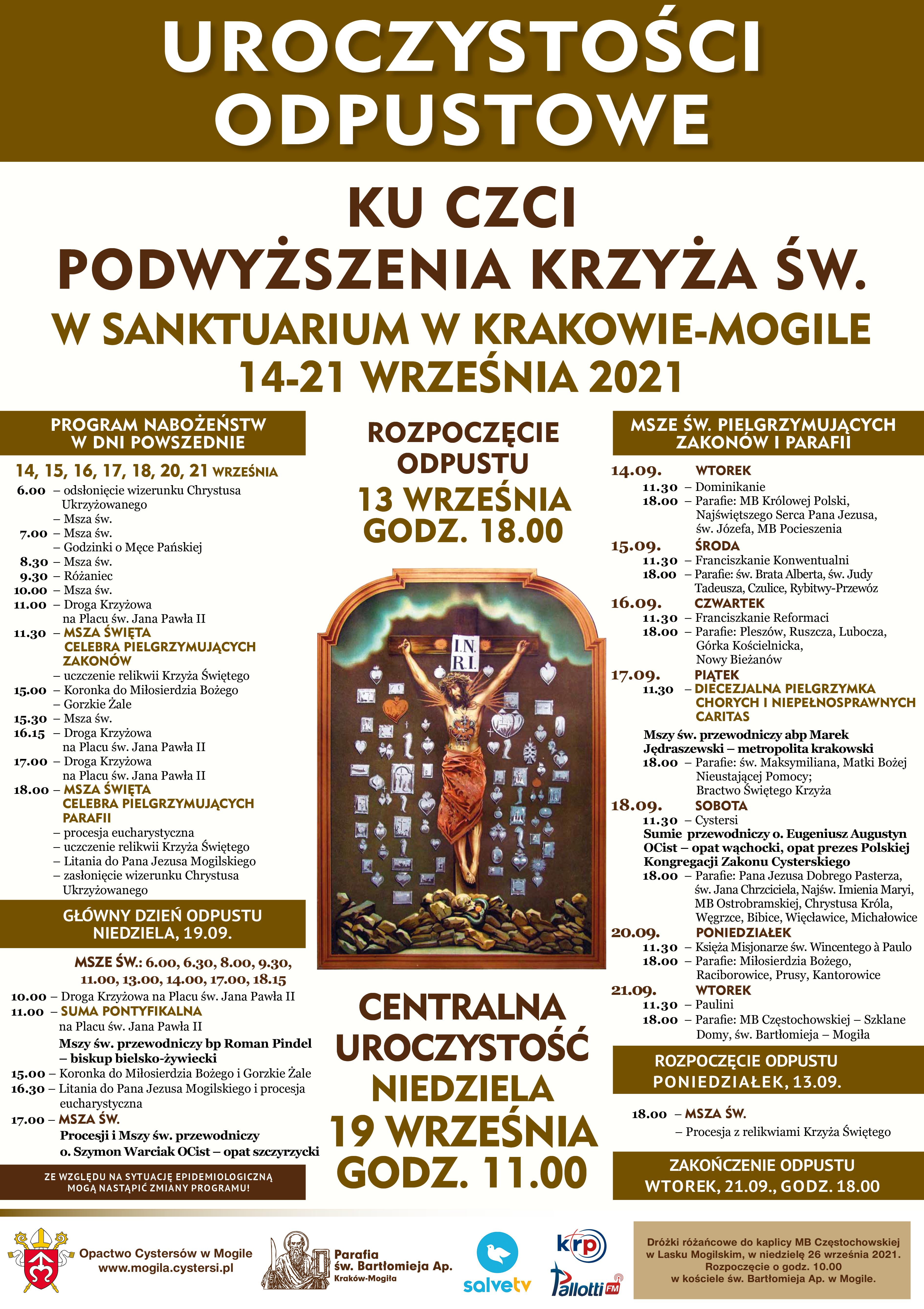 Diecezjalna Pielgrzymka Chorych do Sanktuarium Krzyża Świętego