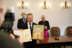 Wręczenie nagrody im. Sługi Bożego Jerzego Ciesielskiego